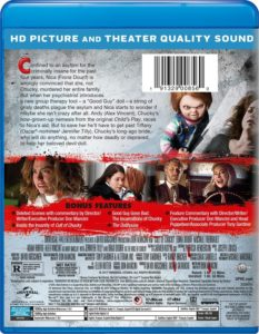 Cult of Chucky - Back Cover