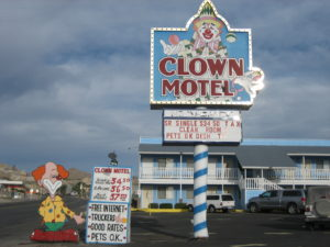 Clown Motel Exterior