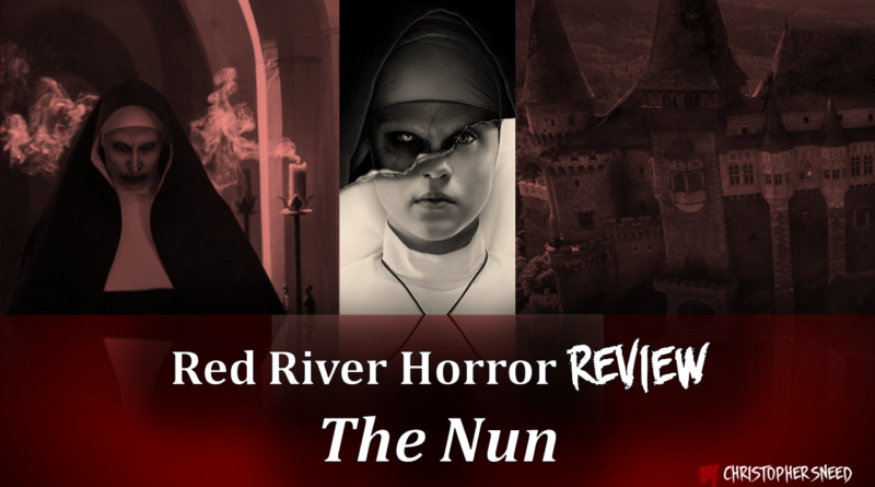 The Nun Review Cover - Red River Horror