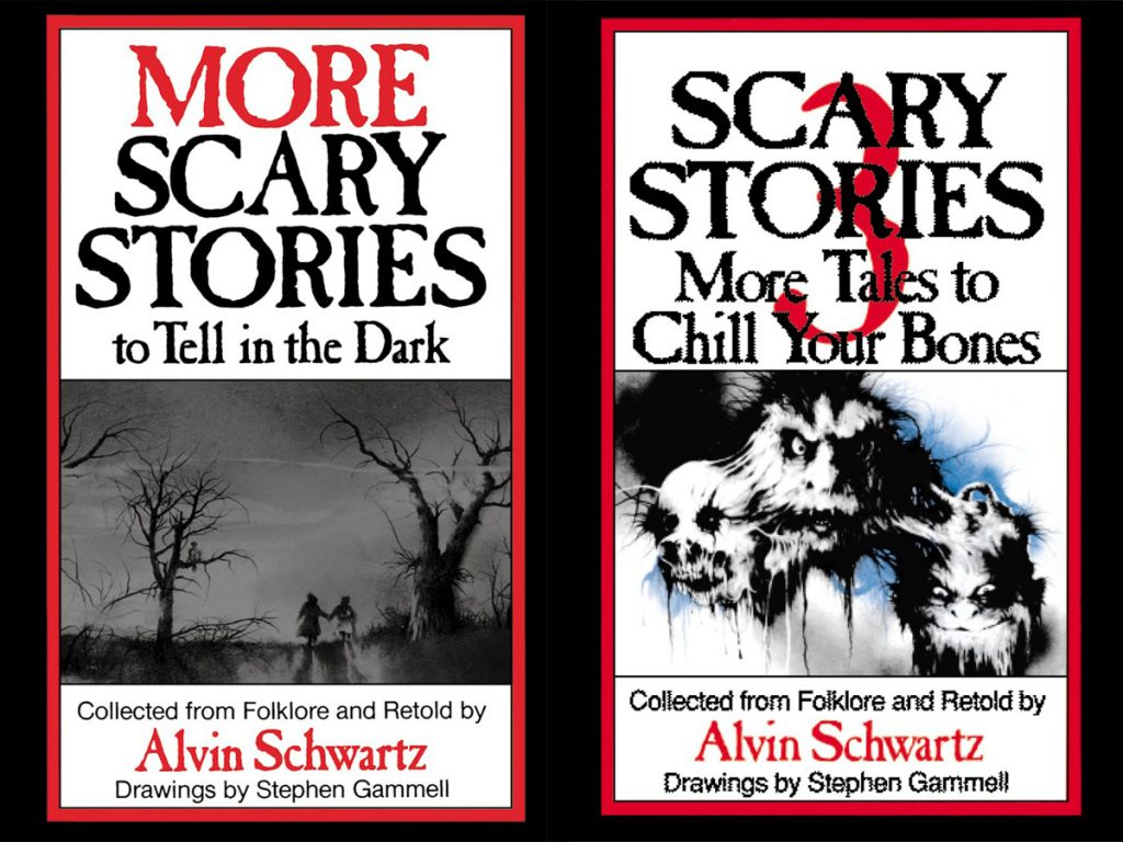 Scary Stories to Tell in the Dark Covers - Red River Horror