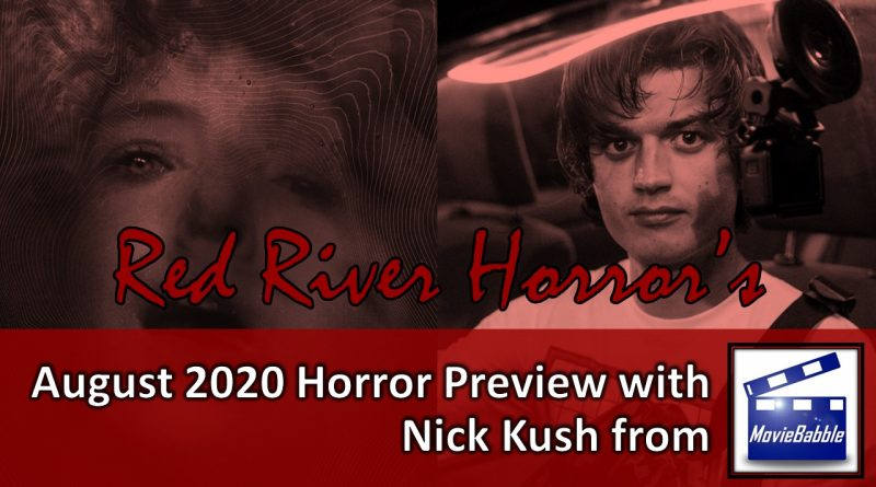August 2020 Horror Preview