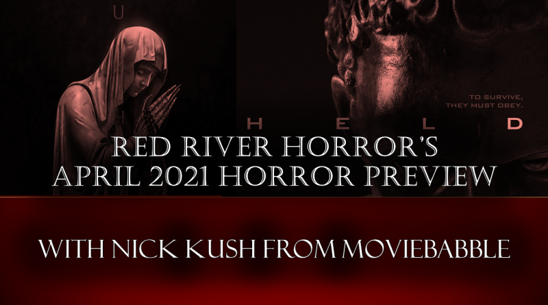 Red River Horror April 2021 Horror Preview