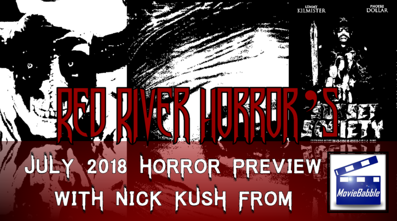 Red River Horror - July 2018 Horror Preview