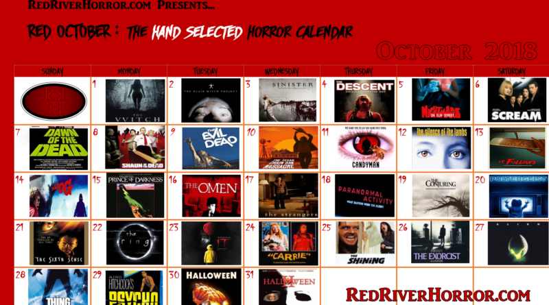 Red October - Red River Horror