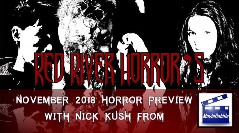 Red River Horror - Cover - November 2018