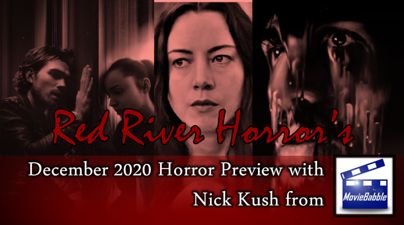 December 2020 Horror Preview - Red River Horror Cover